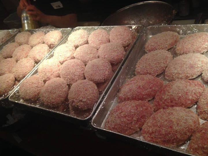 【今週の週替わりランチ:Salt特製 黒毛和牛ハンバーグ~和風きのこソース~(990円)】