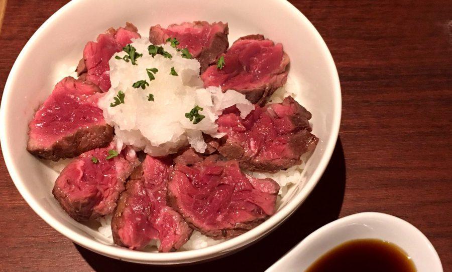 【今週の週替わりランチ:ハラミステーキ丼 (1,280円)】