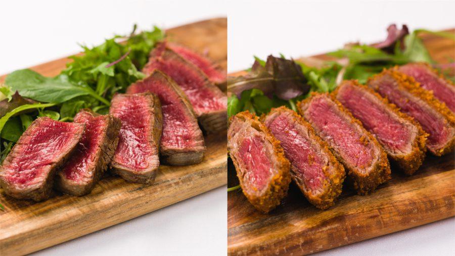【USDA PRIME BLACK ANGUS テンダーロインフェア~世界最高峰赤身肉のステーキ&牛カツ】