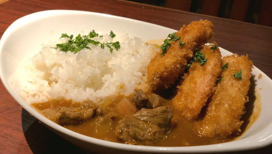 【今週の週替わりランチ:総州古白鶏のチキンカツカレー(950円)】