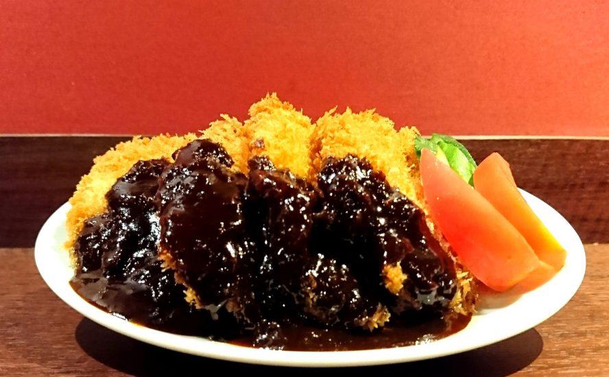 【今週の週替わりランチ:総州古白鶏のチキンカツ ~北九州のどぶ味噌ソース~(900円)】