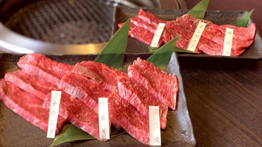 【3日間限定:岩手県産黒毛和牛カルビ・ロース食べ比べ盛り(9/18まで)】