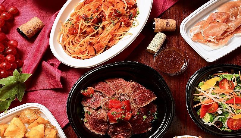 【Saltテイクアウト&デリバリー ~肉バルの本格料理をご家庭・職場で~】