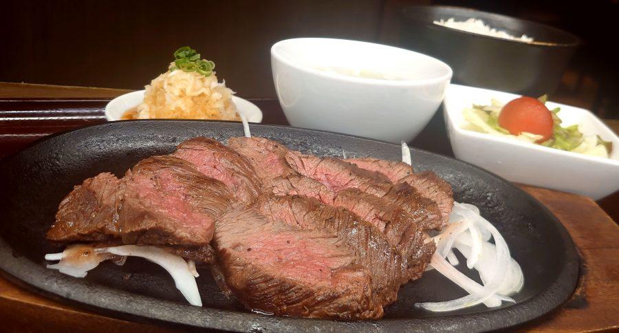 【BeefGarden恵比寿の今週の週替わりランチ:上ハラミランチステーキ(1,680円)】