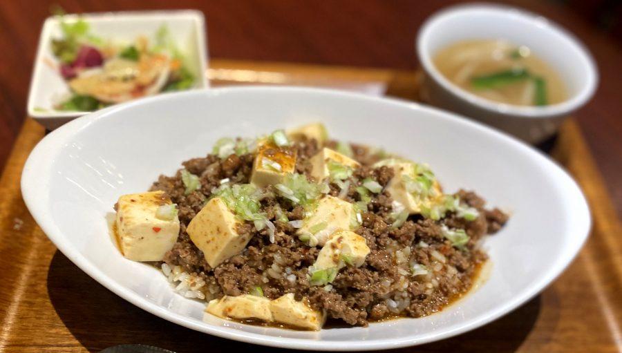 【Salt恵比寿の今週の週替わりランチ:有馬山椒香るマーボー豆腐ボウル(990円)】