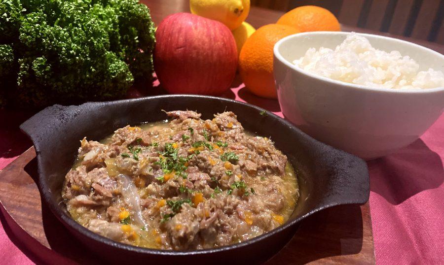 【Salt恵比寿の今週の週替わりランチ:カルボナード ~牛肉のビール煮込み~(990円)】