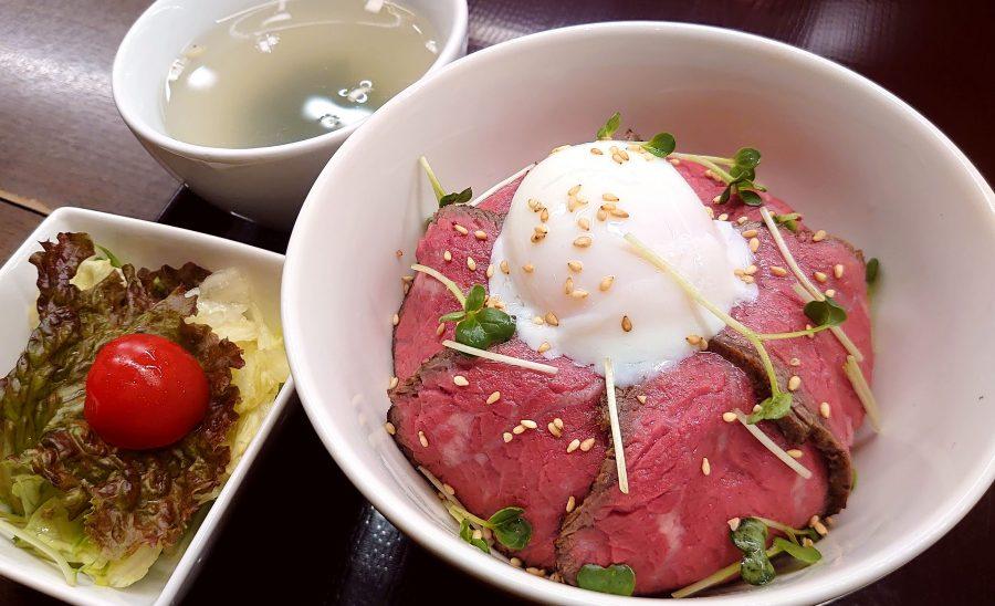 【BeefGarden恵比寿の今週の週替わりランチ:アンガスプライムのローストビーフボウル(1,290円)】