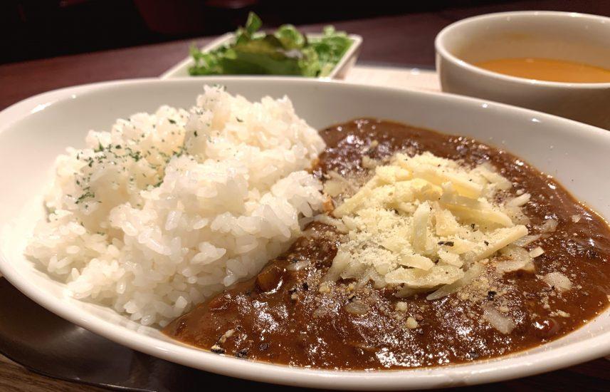 【今週の週替わりランチ:Kamiichi特製デミカレー ~チーズトッピング~(850円)】